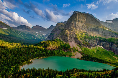 Lake at Grinnell Glacier