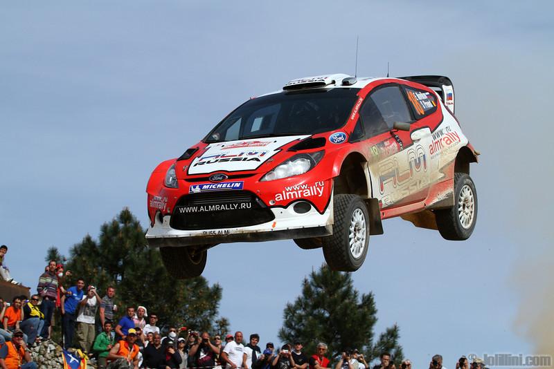 novikov e prevot s (rus bel) ford fiesta RS WRC sardaigne (jl)80-