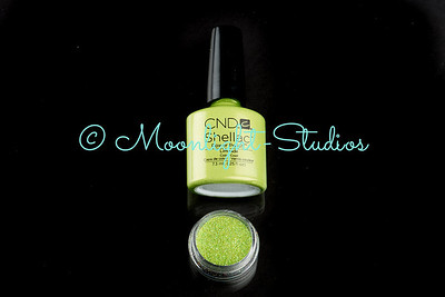 Commercial shoot for CND Shellac Nail Polishes for their SS2013 range.
