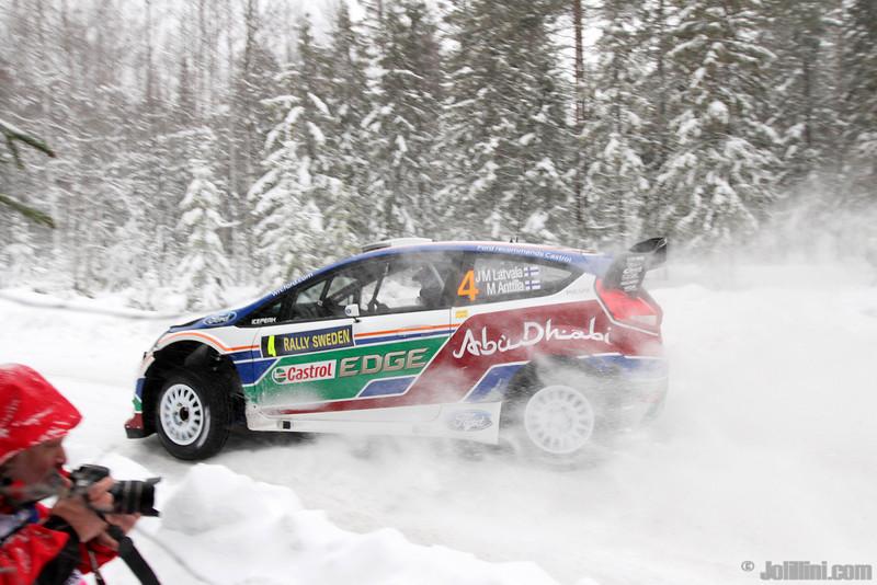 4 latvala jm anttila m (fin) ford fiesta RS WRC 4