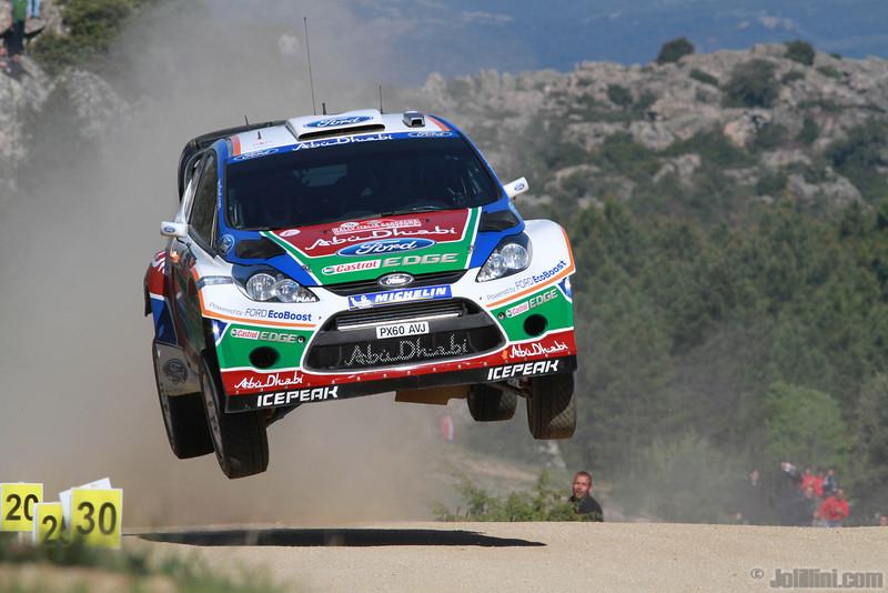 hirvonen m lethinen j (fin) ford fiesta RS WRC sardaigne (jl)-31