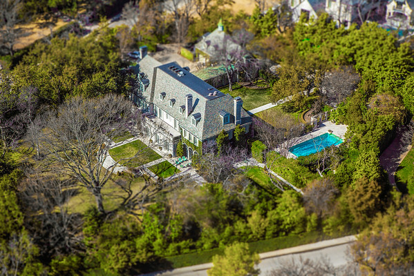 John Scudder Adkins Home -- featured in March 2015 issue of FDHouse <br /> Photographed from above on a helicopter<br /> © Daniel Driensky 2015