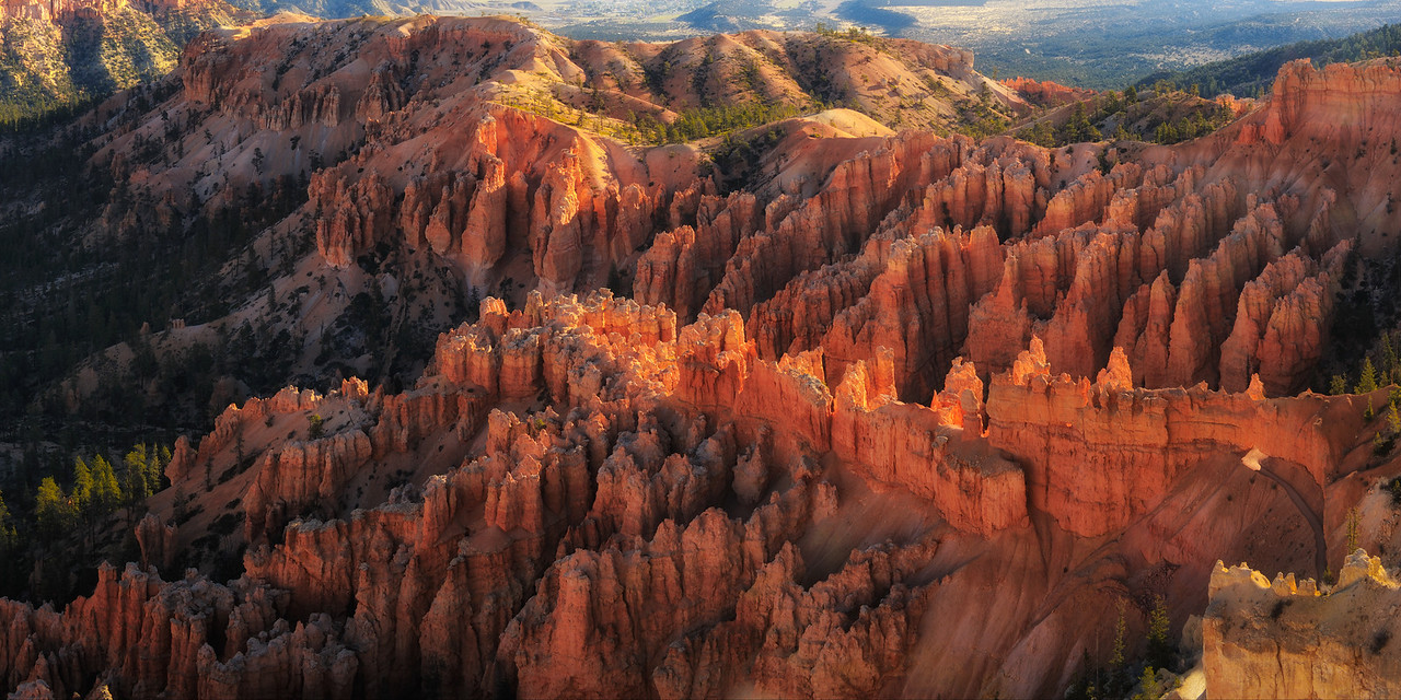 Sunrise at Bryce Point, Bryce Canyon National Park