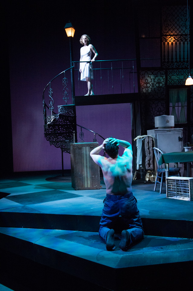 The Oregon Shakespeare Festival. 2013. A Streetcar Named Desire by Tennessee Williams. Directed by Christopher Liam Moore. Scenic Design: Christopher Acebo. Costume Design: Alex Jaeger. Lighting Design: Robert Wierzel. Photo: Jenny Graham.