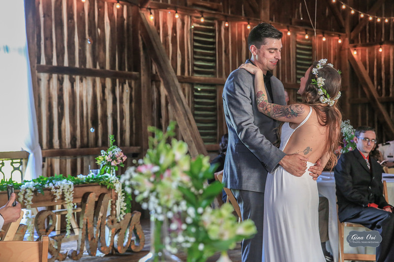 The First Dance as Husband & Wife.