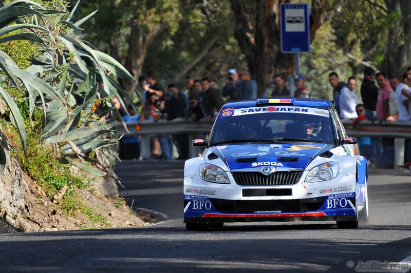 Freddy Loix (BEL) Frederic Miclotte (BEL) Skoda Fabia S2000, BFO Skoda Rally Team