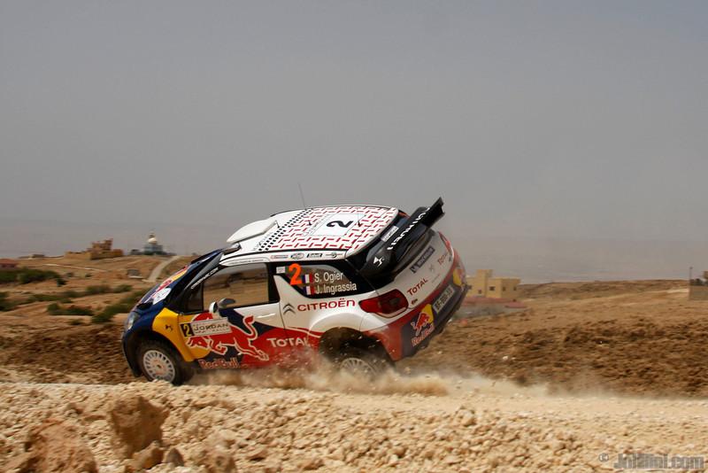ogier s ingrassia j (fra) citroen DS3 WRC jordanie (jl) 21