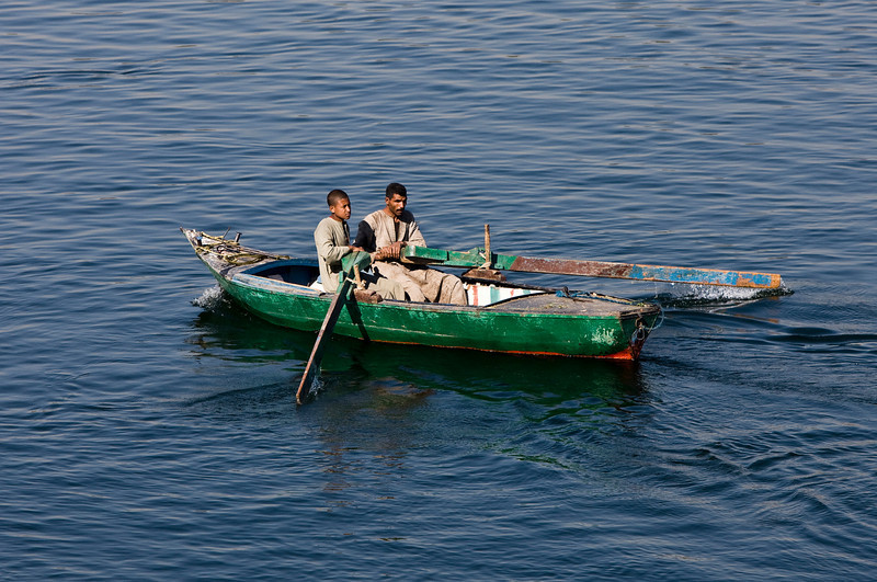 Nile River - fishing