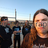 "Title: ""Vaughan Up Front""<br /> Category: Band Photo Shoot<br /> Location: Salt Lake near Rockingham<br /> Notes: Wide angle portrait with fill flash (SB-600) shot at first light in the morning. This shoot was for Grave Forsaken's Second Album ""Destined For Ascension"". Taken with a Nikon D50 camera + Sigma 10-20f/4-5.6 lens + Nikon SB-600 Flash."