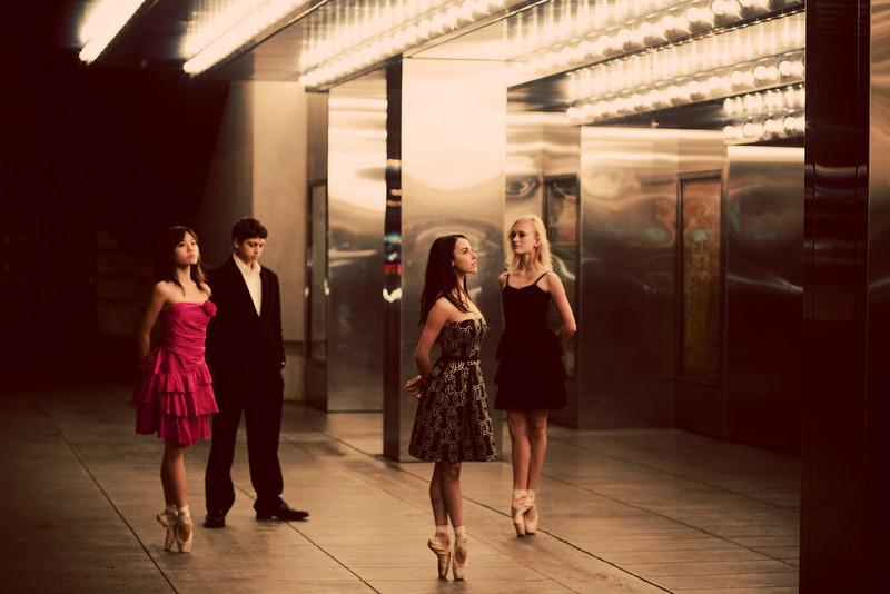 Dancers - Eri Nikai, Aaron Renteria, Jessica Cohen, & Alanna Endahl.<br /> <br /> © 2011 Oliver Endahl