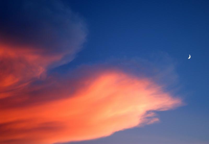 Sunset at Disney