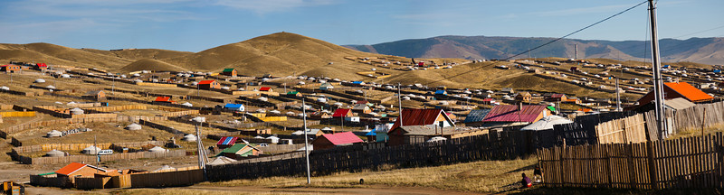 Housing community - Ulaanbaatar, Mongolia