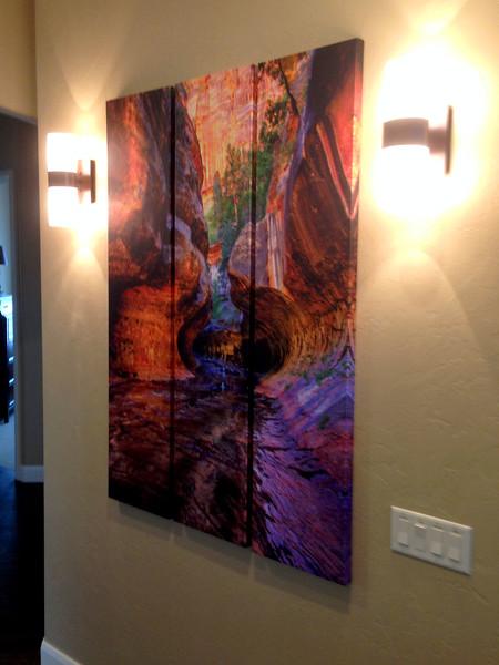 40 x 60 Triptych (3 panel) - Portrait Orientation
