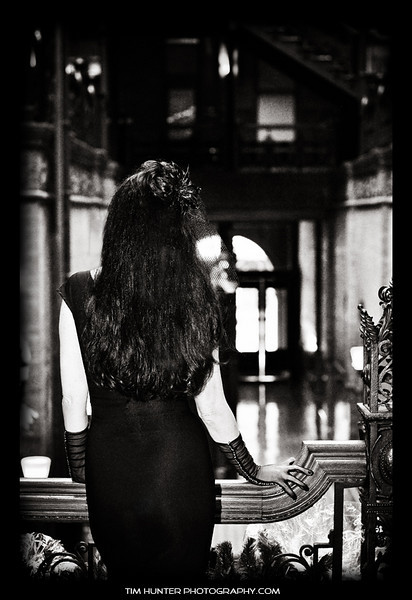 Mary Christmas<br /> The Bradbury Building - Los Angeles - 2010