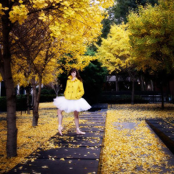 Dancer - Caitlin McAvoy.<br /> <br /> © 2010 Oliver Endahl