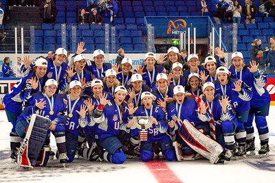 2019 IIHF Women's World Hockey Championship Gold Medal Game.