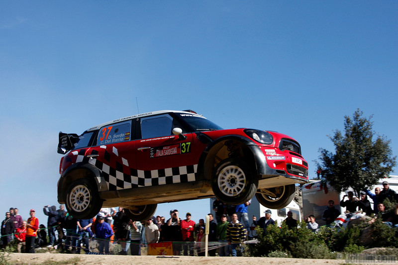 sordo d d del barrio c (esp) mini j cooper works WRC sardaigne (jl)-30