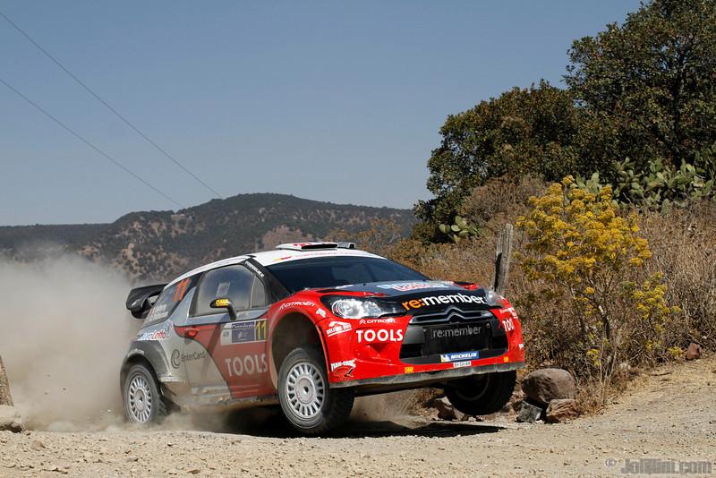 11 solberg p patterson c ( nor gb) citroen DS3 WRC mexique 34