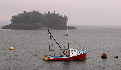 Fishing Boat. Lubec, Maine.