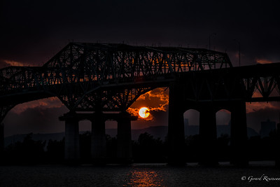Champlain bridge Montreal