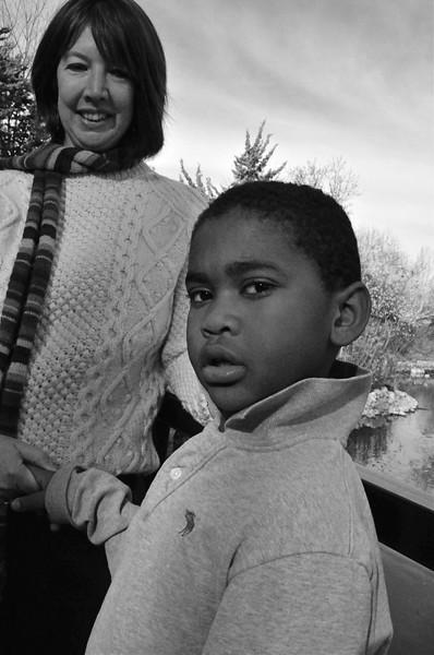 Kathleen and Kellan Warner, Kathryn Albertson Park, Boise, ID 2008
