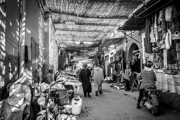 Marrakech alleys