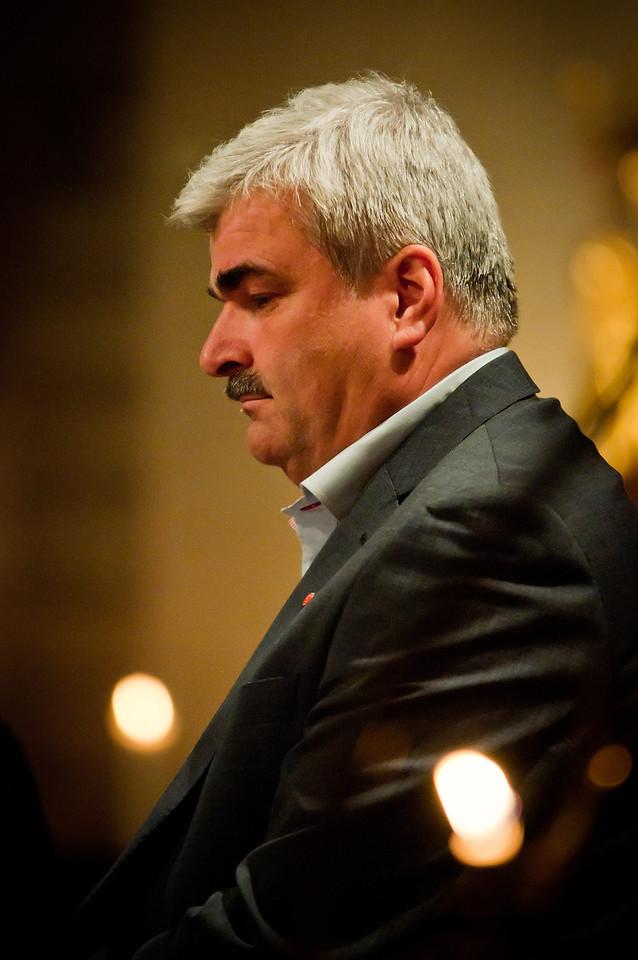 Håkan Juholt under Nikodemussamtal 2011