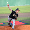 Jason Eiger pitches for Bishop Moore