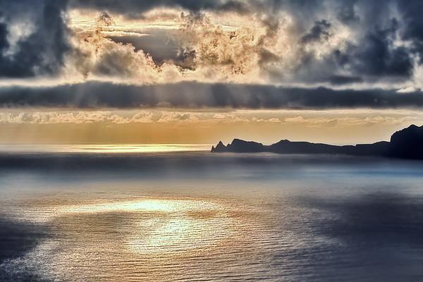 Golden Sunrise at Ponta de São Lourenço