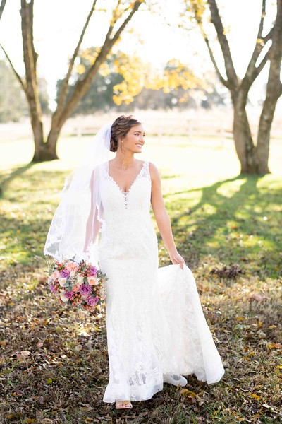 Knoxville Tennessee Bridal Portraits