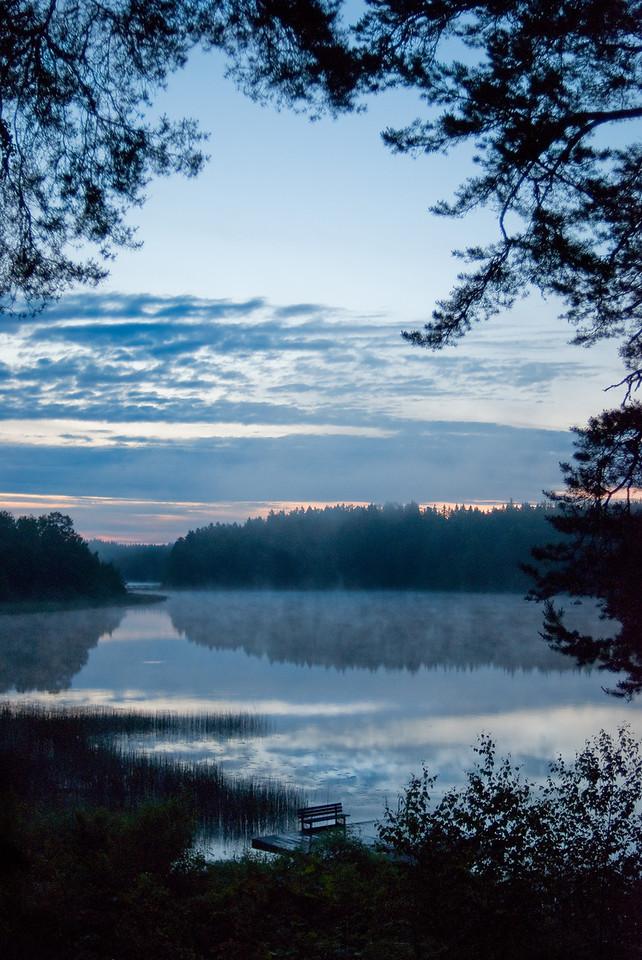 Morgon vid Norreda