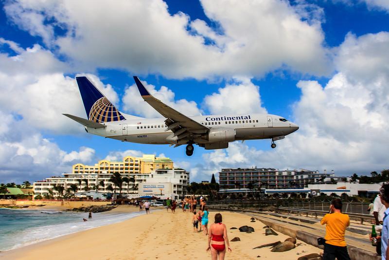 Over the Beach!<br /> Maho Beach, Sint Maartin, Netherlands Antilles