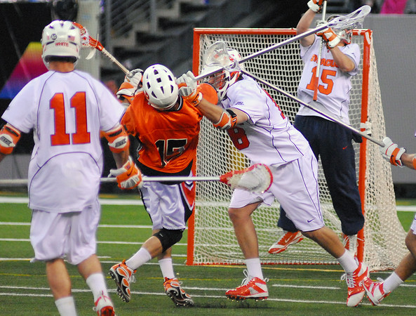 "The Daily Princetonian, April 12, 2010 - ""Men's Lacrosse: Orange and Black and Blue"""