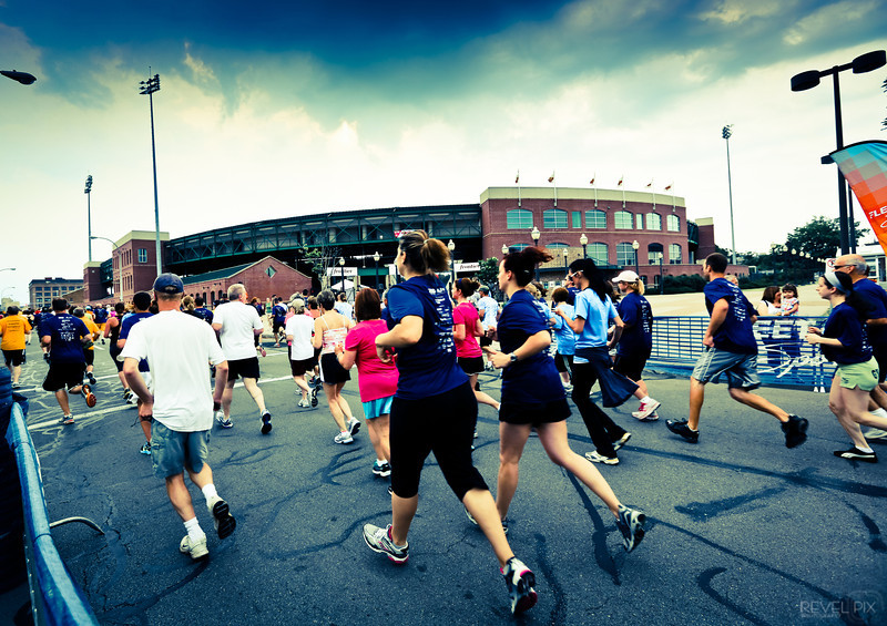 The Dash for Dads Race in Rochester, NY on 5/28/12.