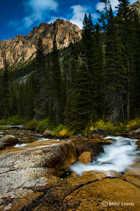 Redfish Lake Creek in the Sawtooth Mountains, Idaho.