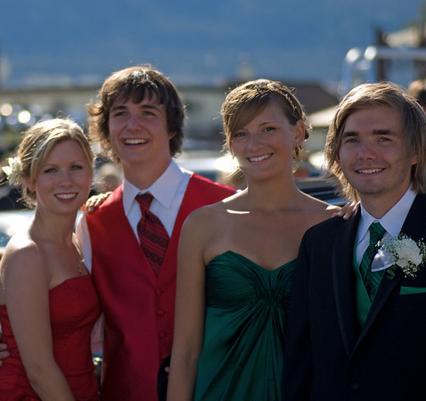 Brooke, Carl, Emily and Kevin