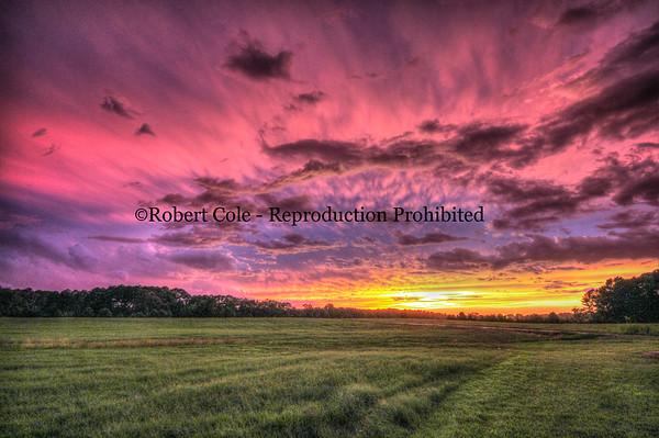 Sunset, Newberry, SC