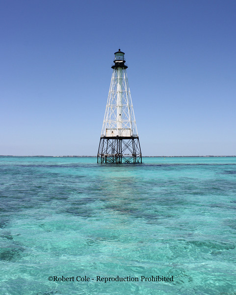 Alligator Reef Light is located four nautical miles east of Indian Key, near the Matecumbe Keys of Florida in the United States, north of Alligator Reef itself. The station was established in 1873. It was automated in 1963 and is still operational.