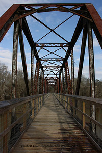 The trestle, located along the Broad River near Peak, S.C., has been renamed the SCE&G trestle and will be maintained through the company's sponsorship of the Palmetto Trail.