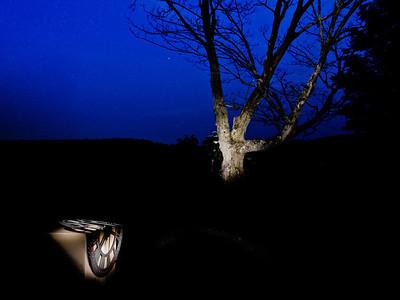 lightpainting Dali