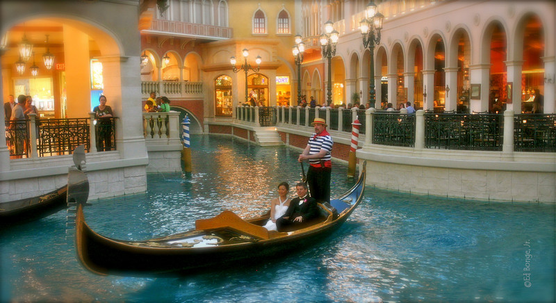 Gondola at the Venetian, Las Vegas
