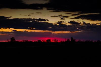 Sunset-Moonrise over Bedford-November 10, 2011-10