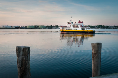 Casco Bay Lines Sunrise Cruise
