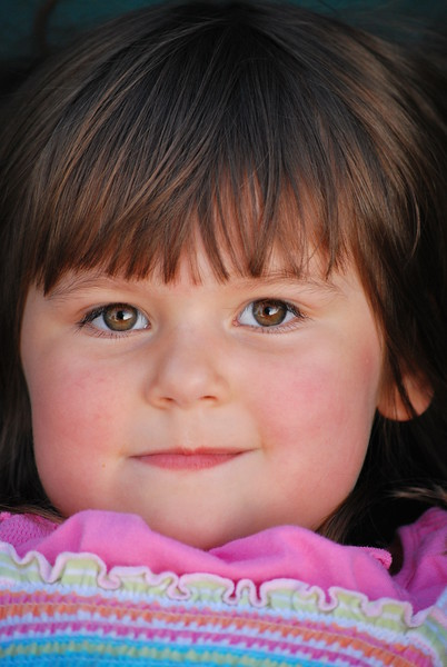 Brown Eyed Beauty...... August 2008....4 years old