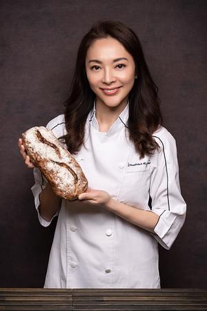 麵包師形象照/ 「味覺的感動」主廚