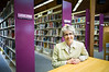 """Shrewsbury - Shrewsbury Library Director Ellen Dolan has served in the position now for six years, following 35 years working  in Westborough and then West Boylston. Dolan was one of ten  librarians nationally to be awarded the Carnegie Corporation's """"I Love My Librarian"""" award in 2010, for which she won $5000 and attended a New York City reception. Photo/Christopher Weigl"""