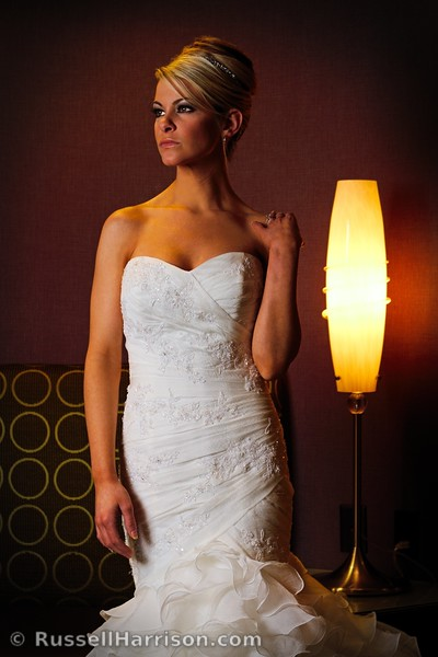 Shot for the second Portrait Palooza event held by the Wedding Photographic Society.  We had only 10 minutes to shoot with our model anywhere inside the Renaissance Raleigh North Hills Hotel.    Thanks to Ginger Mullins and Margo Williams for their talents with hair and makeup, Rachel Price of Tre Bella for providing the beautiful gowns, the WPS board for organizing the event, and of course the lovely Kasey Unroe for volunteering to model for us.