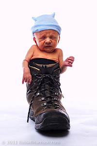 Already working on filling Daddy's shoes...