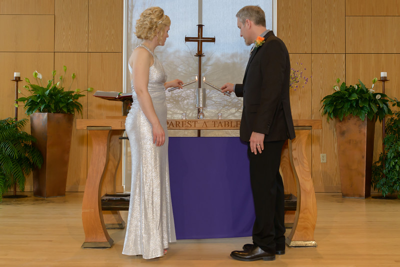 Jordanna & Tim's Wedding, Hope Lutheran (March 2014)
