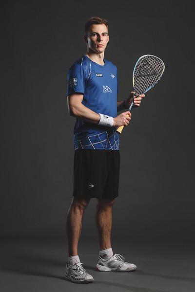 Nick Matthew of England. Professional Squash Association. (Photo by Jordan Mansfield/PSA)